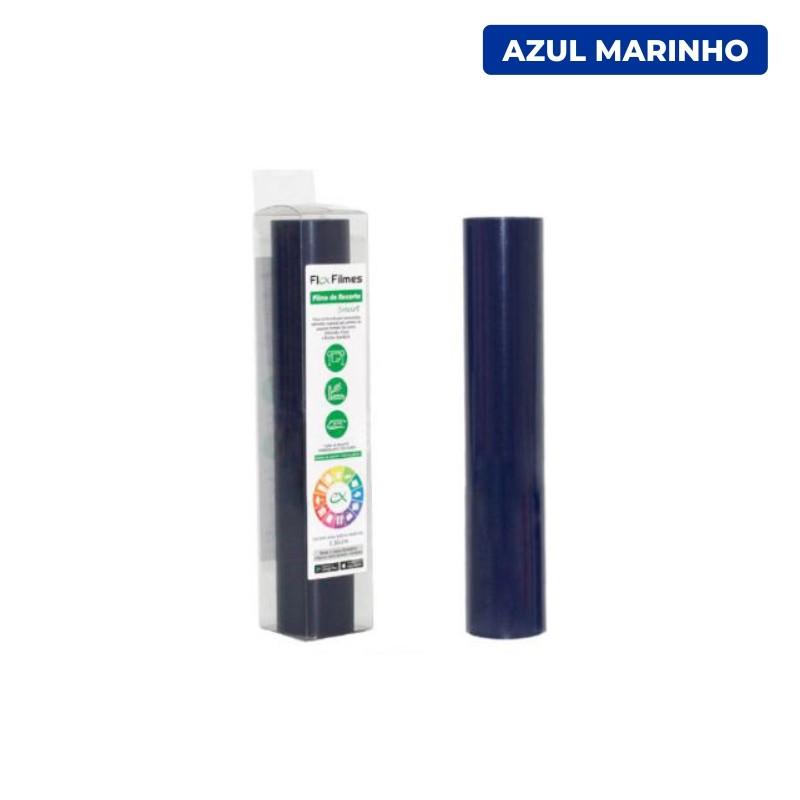 Filme de Recorte Flex Cut Smart Azul Marinho - Bobina 0,30x3m