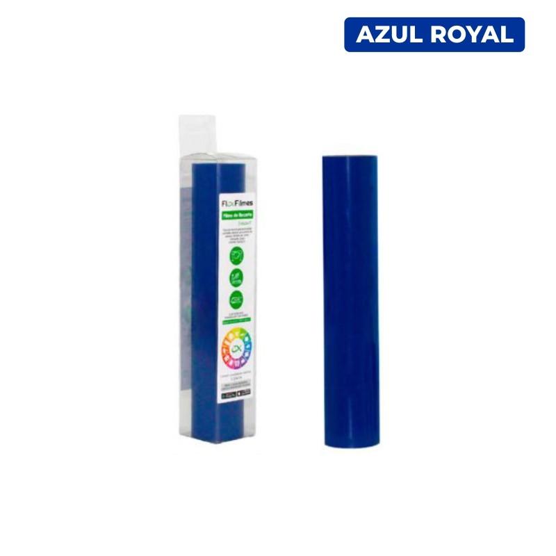 Filme de Recorte Flex Cut Smart Azul Royal - Bobina 0,30x3m