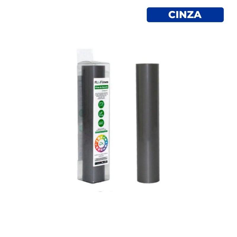 Filme de Recorte Flex Cut Smart Cinza - Bobina 0,30x3m