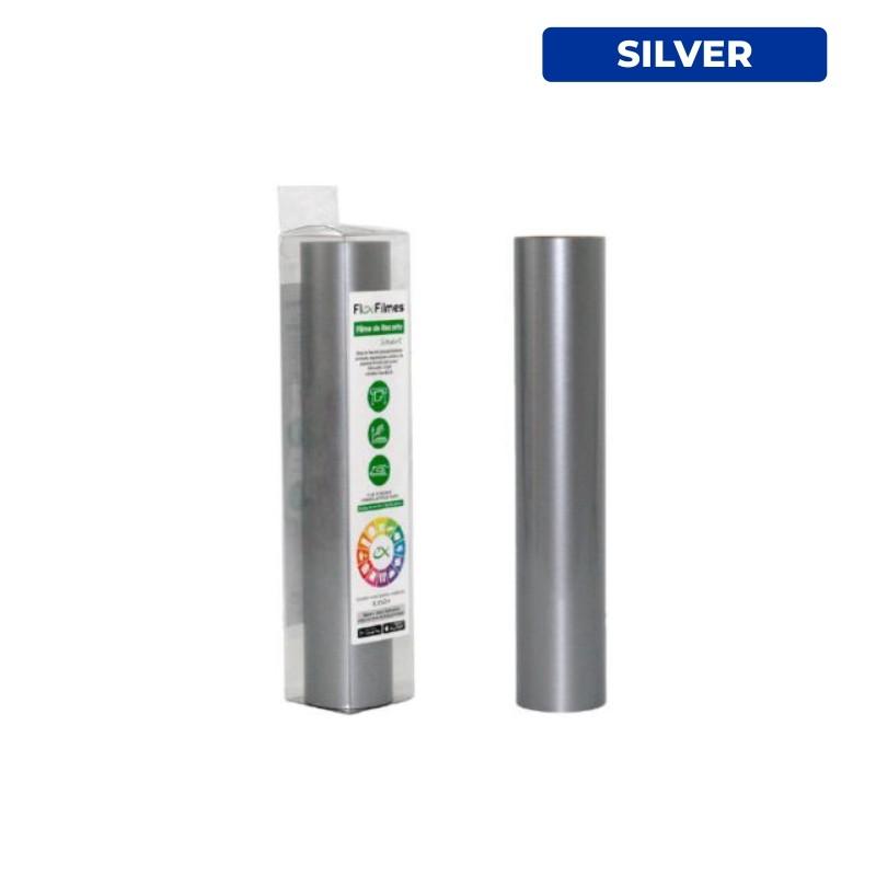 Filme de Recorte Flex Cut Smart Silver - Bobina 0,30x3m