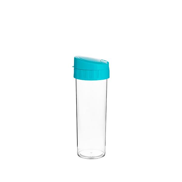 Garrafa Eco Water Azul Tiffany - 450ml - Transfer Laser