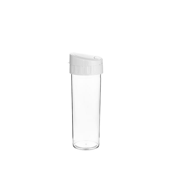 Garrafa Eco Water Branca- 450ml - Transfer Laser
