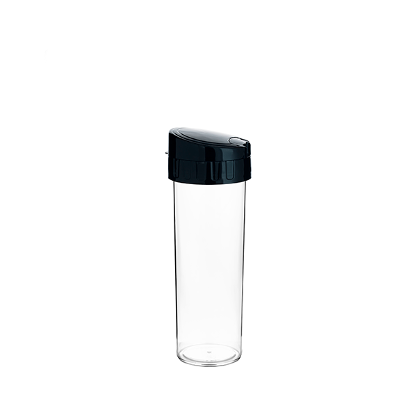 Garrafa Eco Water Preta- 450ml - Transfer Laser