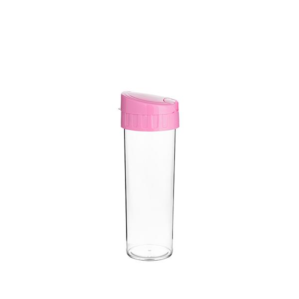 Garrafa Eco Water Rosa Bebê - 450ml - Transfer Laser