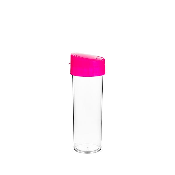 Garrafa Eco Water Rosa Pink - 450ml - Transfer Laser