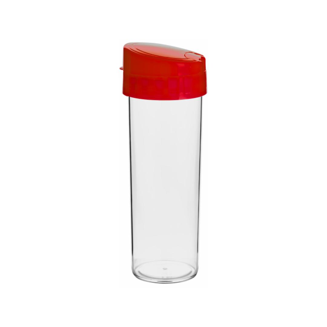 Garrafa Eco Water Vermelha - 450ml - Transfer Laser