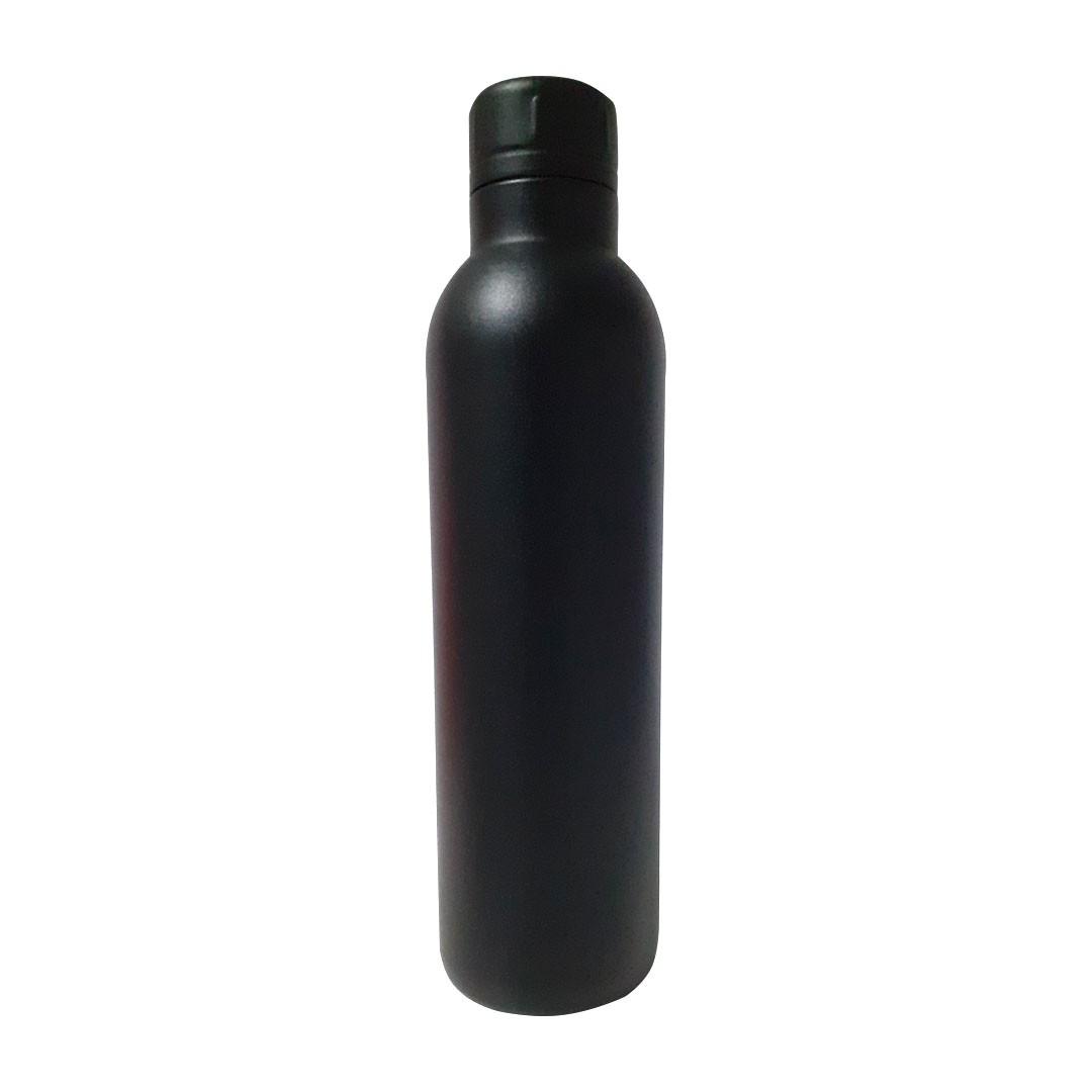 Garrafa Térmica 1325 p/ Sublimação - Preta - 500ml