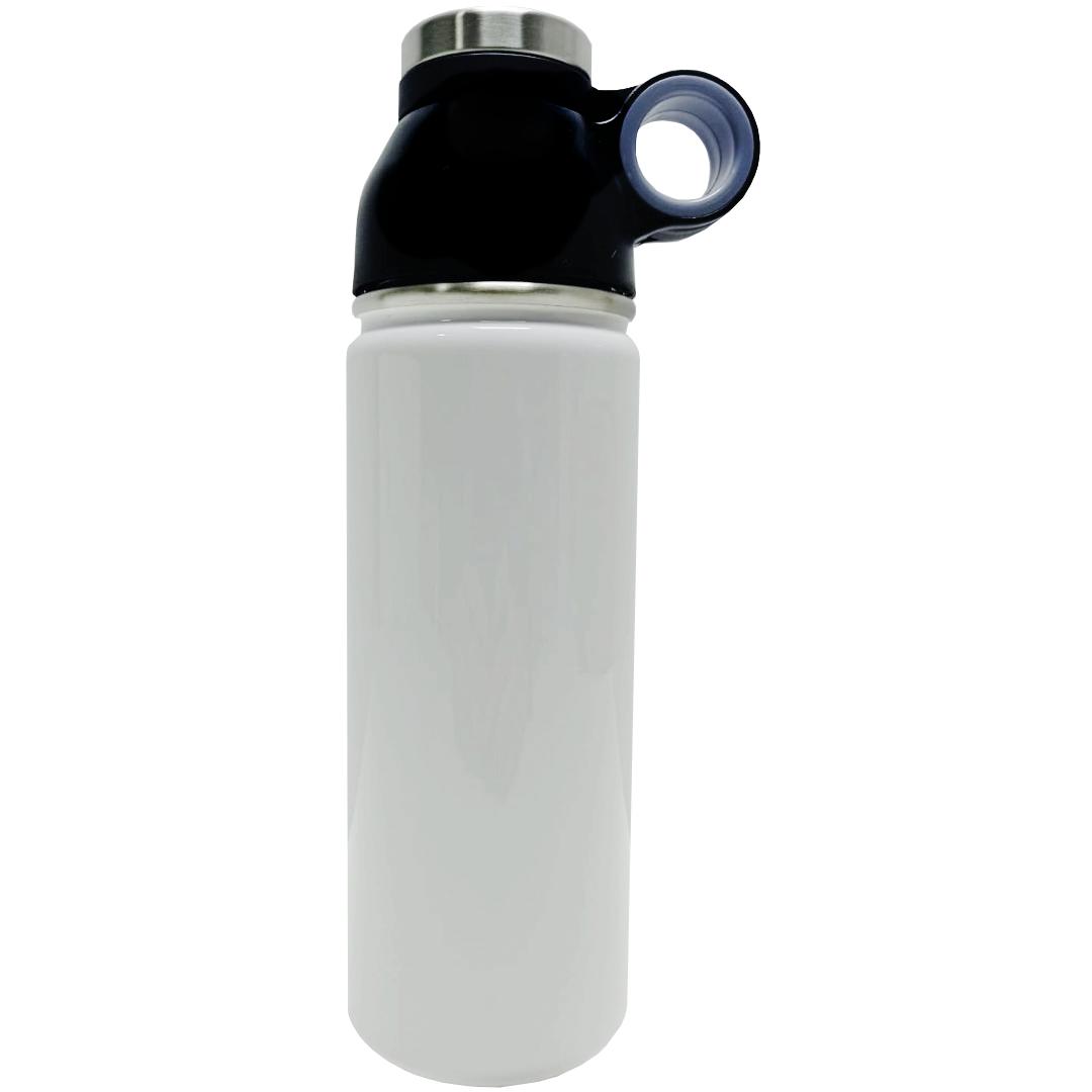 Garrafa Térmica Branca para Sublimação com Suporte - 500ml - Prokor