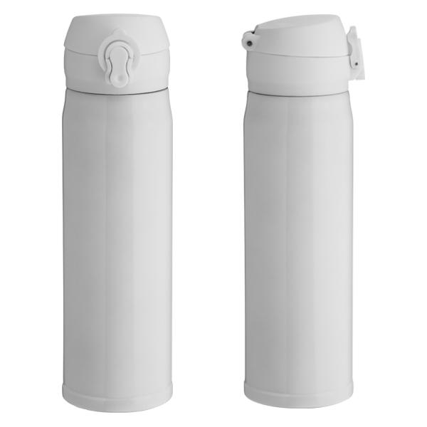 Garrafa Térmica Click Para Sublimação - Branca - 400ml