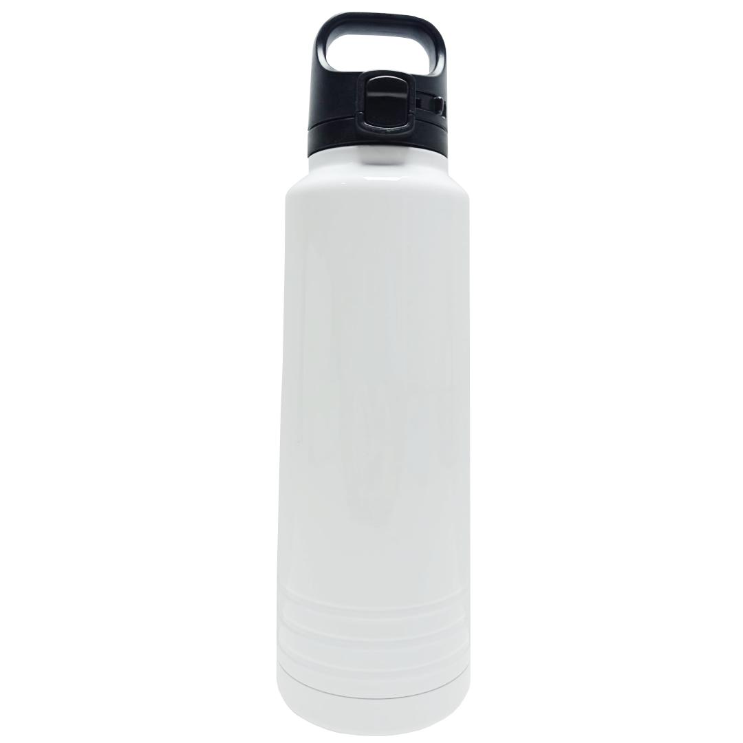 Garrafa Térmica para Sublimação Branca com Alça e Trava 600ml - Prokor