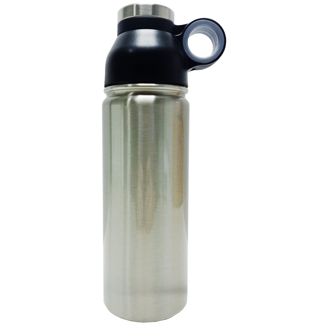 Garrafa Térmica Prata para Sublimação com Suporte - 500ml - Prokor