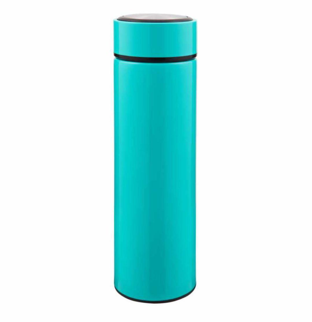 Garrafa Térmica Slim Azul Tifanny  Para Sublimação - 450ml - Inox