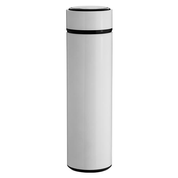 Garrafa Térmica Slim Branca Para Sublimação - 450ml - Inox
