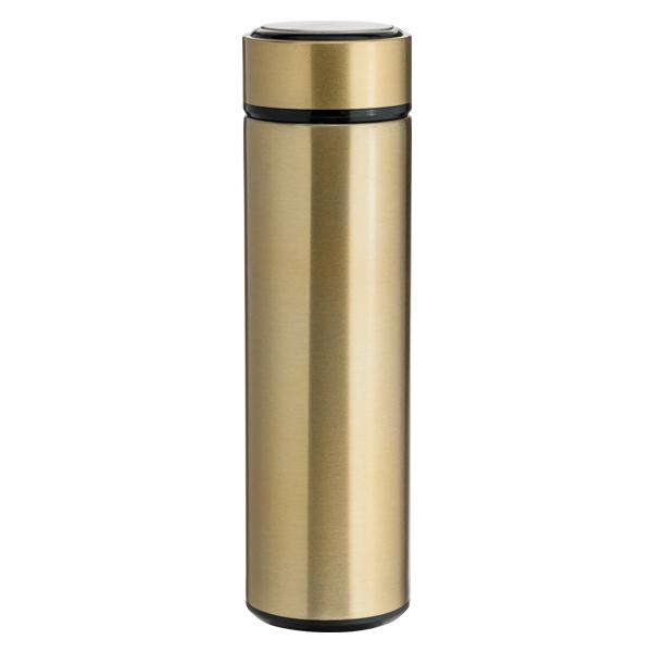 Garrafa Térmica Slim Dourada Para Sublimação - 450ml - Inox