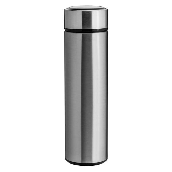 Garrafa Térmica Slim Prata Para Sublimação - 450ml - Inox