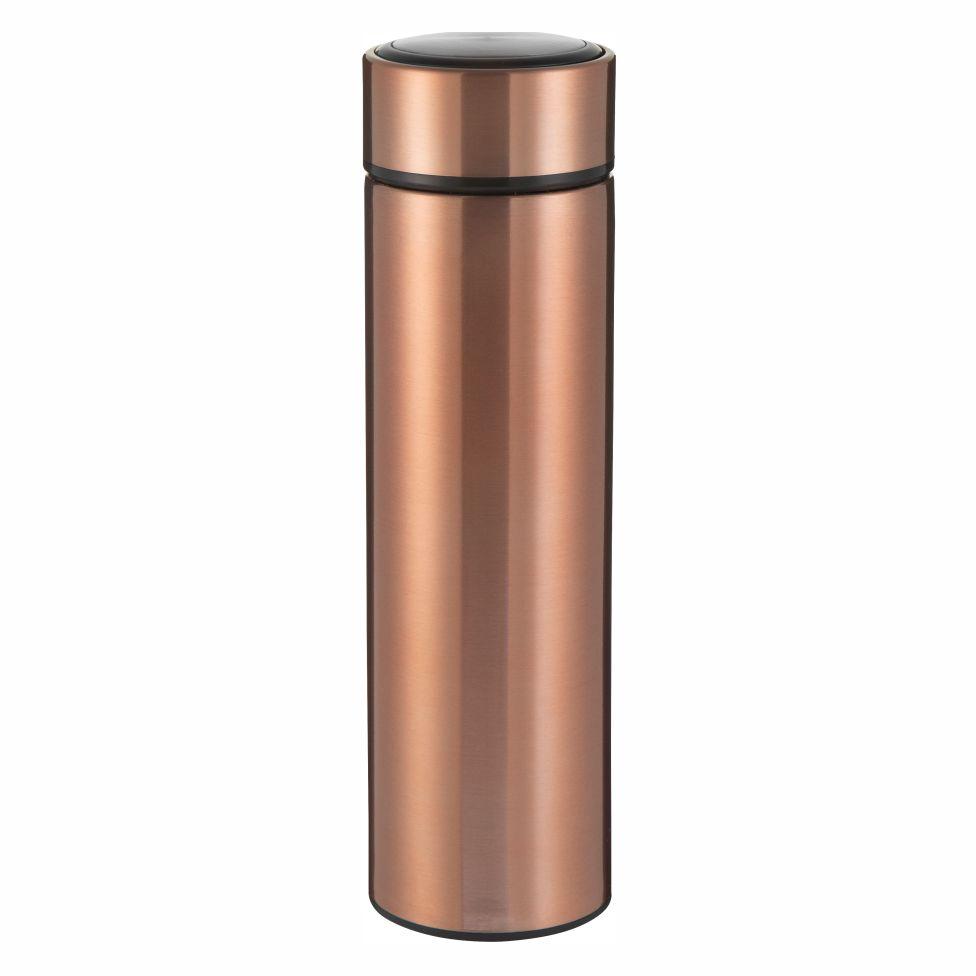 Garrafa Térmica Slim Rosé Para Sublimação - 450ml - Inox