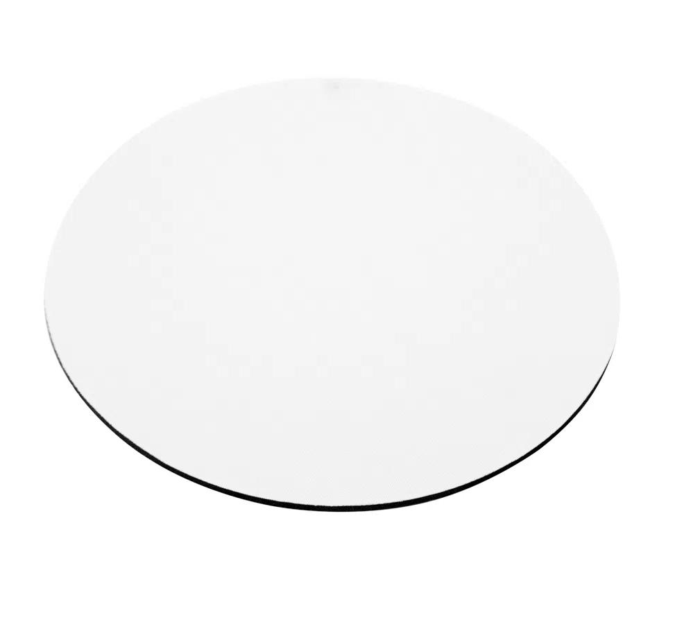 Mouse Pad Redondo Para Sublimação - 20x20cm - Pacote 2 (duas) Unidades