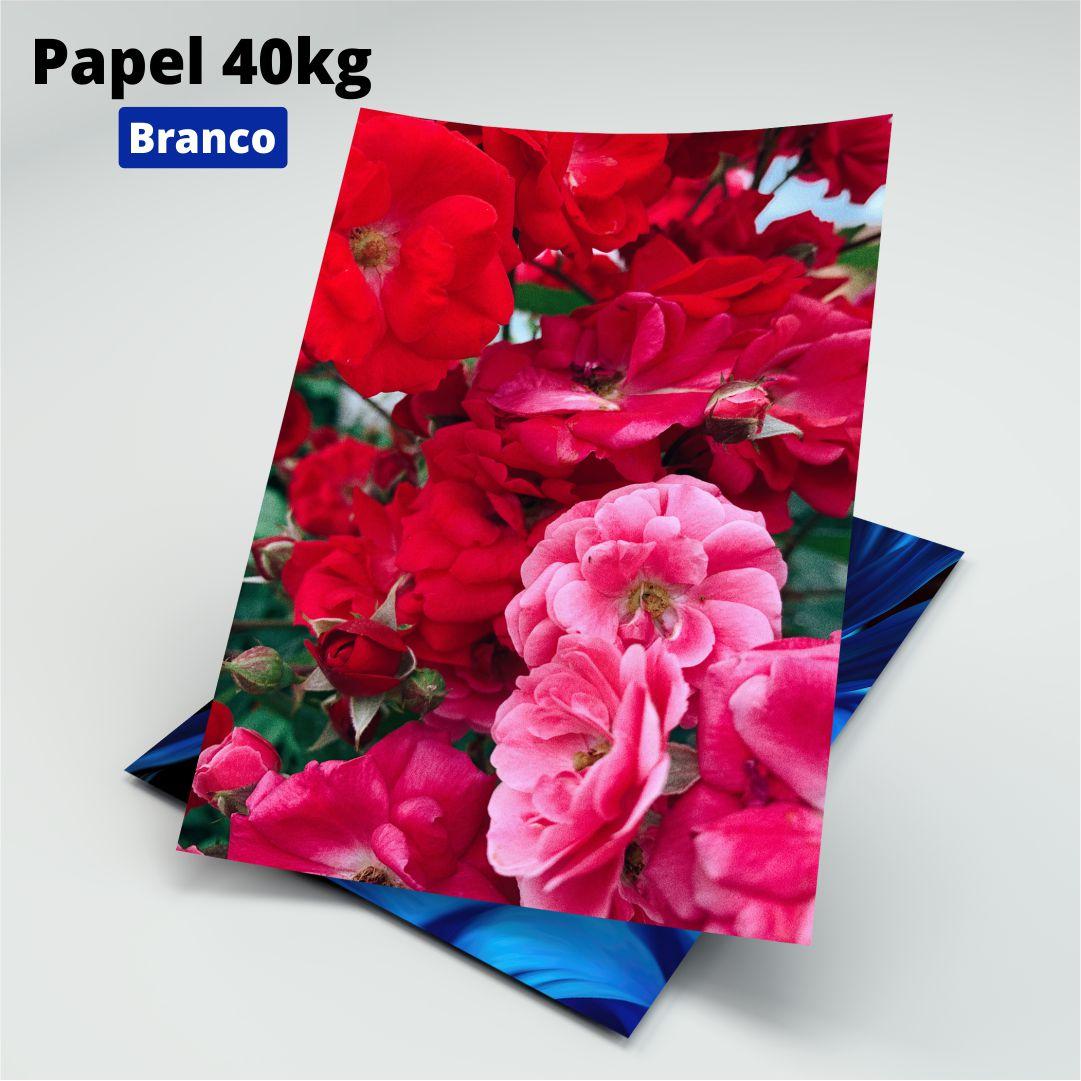 Papel 40kg Branco - A4 - 200 Folhas