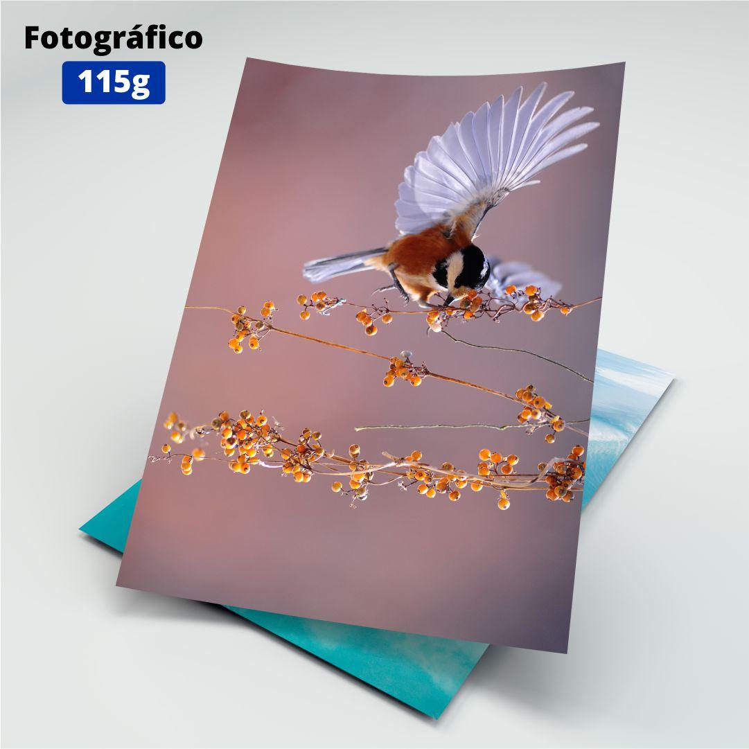 Papel Fotográfico 115g - Masterprint - A4 - 50 Folhas
