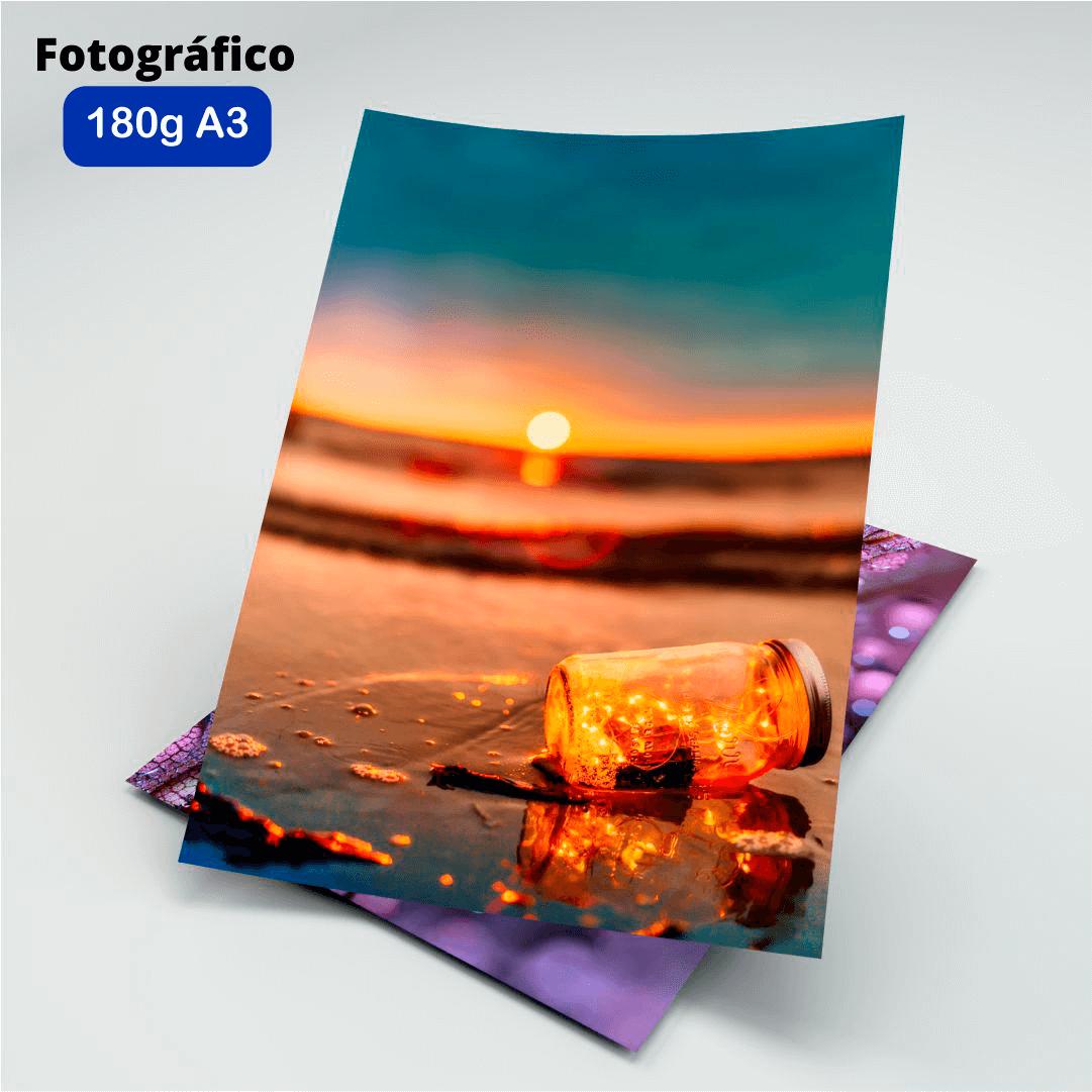 Papel Fotográfico 180g - Masterprint - A3 - 20 Folhas