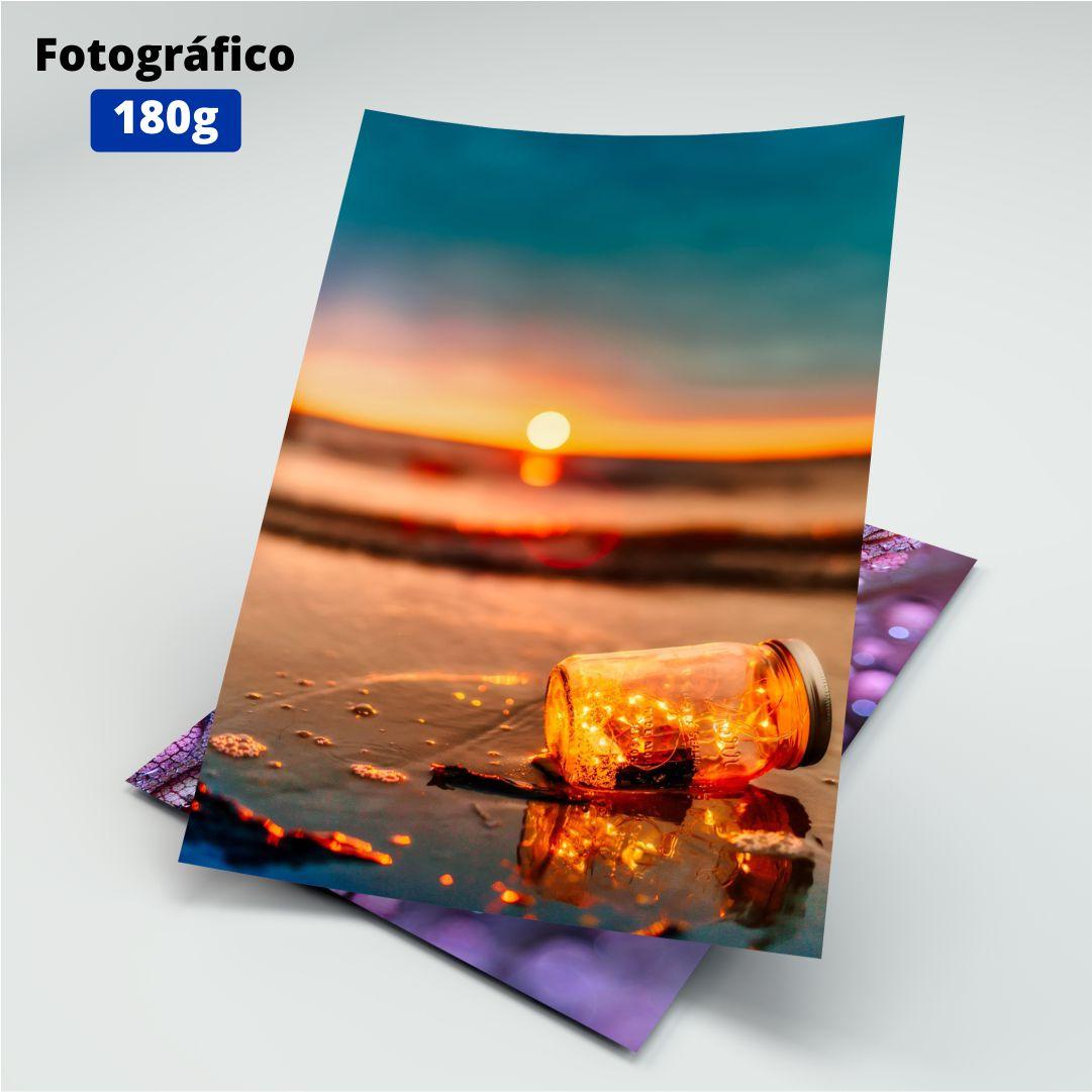 Papel Fotográfico 180g - Masterprint - A4 - 20 Folhas