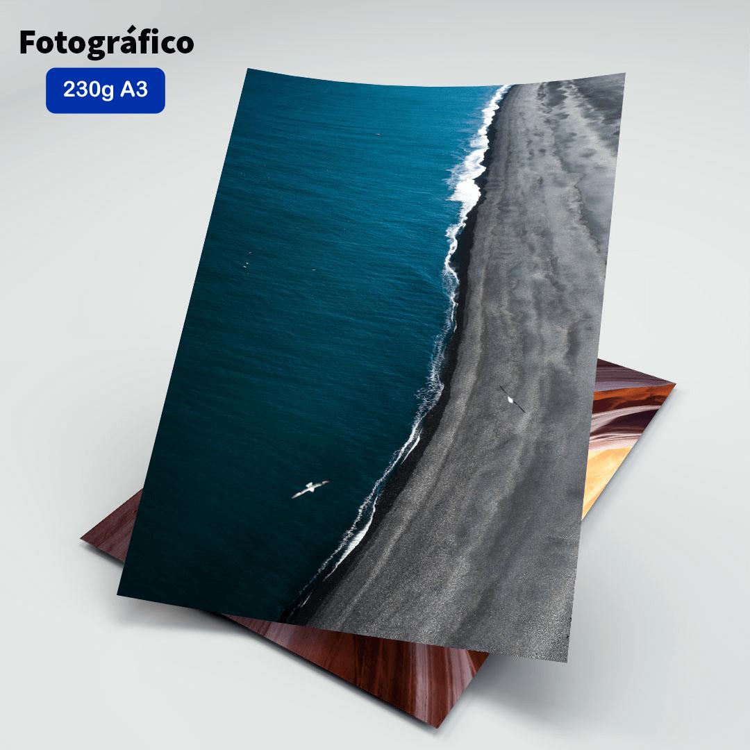 Papel Fotográfico 230g - Masterprint - A3 - 20 Folhas