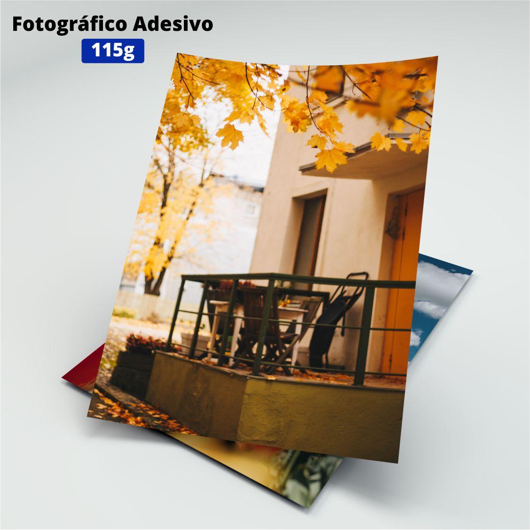 Papel Fotográfico Adesivo - 115g - Masterprint - A4 - 20 Folhas