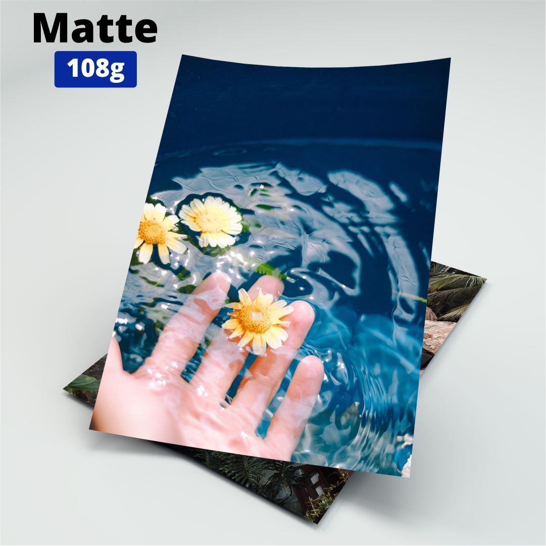 Papel Fotográfico Matte - 108g - Link - A4 - 100 Folhas