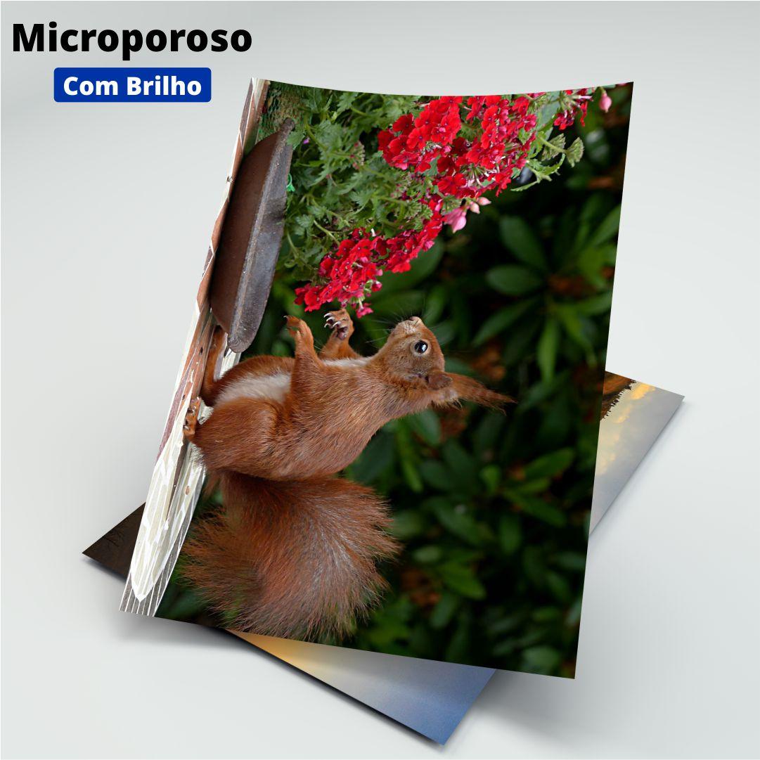 Papel Fotográfico Microporoso C/ Brilho - 260g - Masterprint - A4 - 20 Folhas