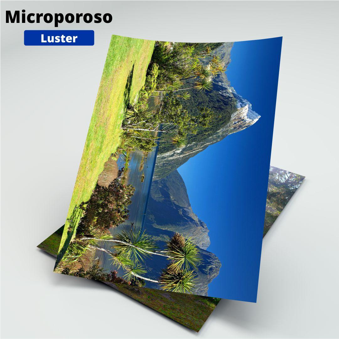 Papel Fotográfico Microporoso Luster - 260g - Masterprint - A4 - 20 Folhas