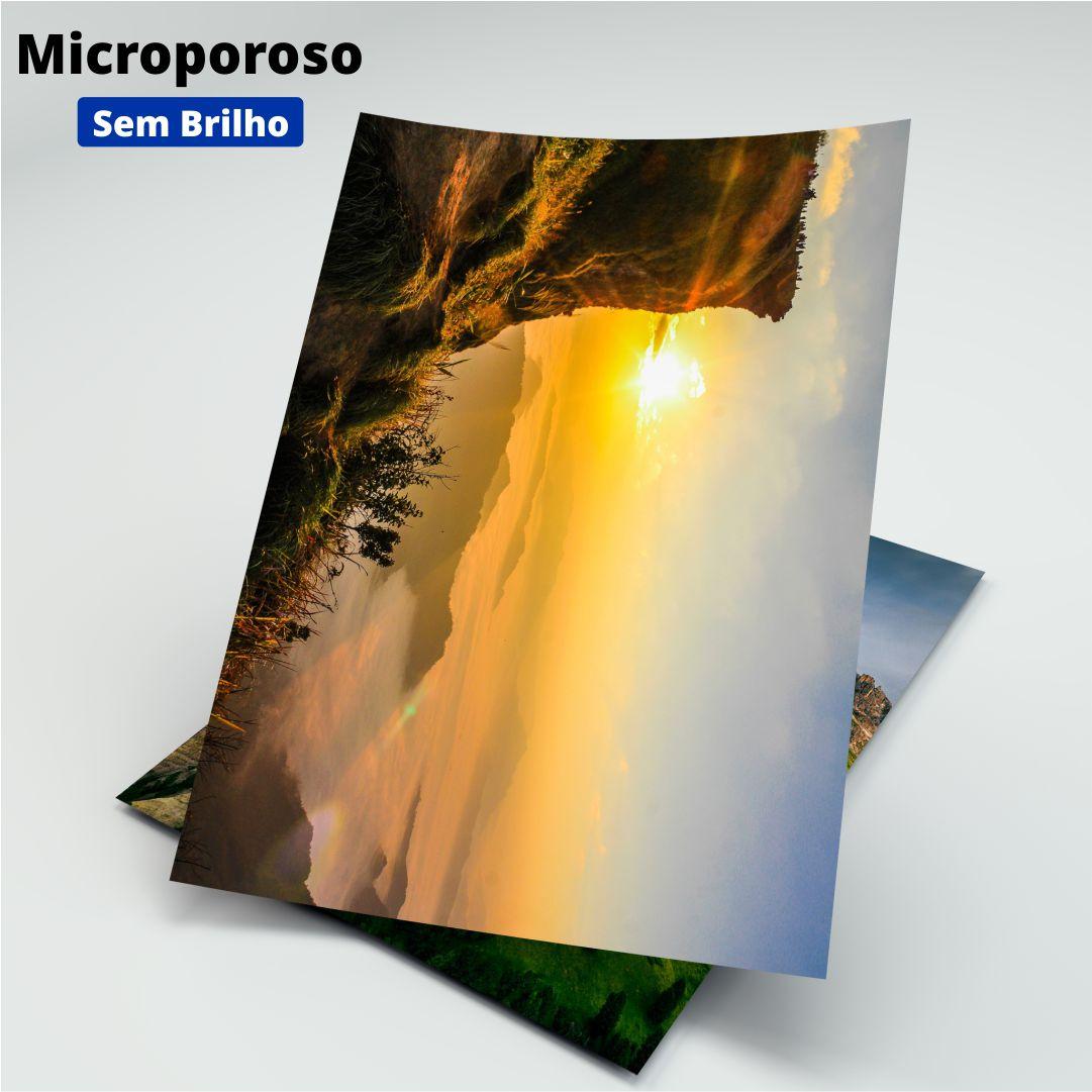 Papel Fotográfico Microporoso S/ Brilho - 260g - Masterprint - A4 - 20 Folhas