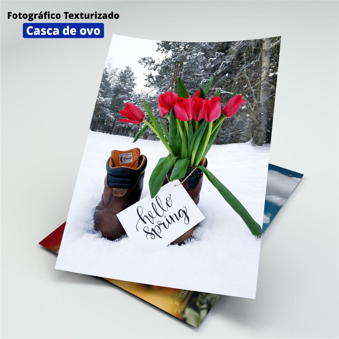Papel Fotográfico Texturizado Casca de Ovo - 200g - Masterprint - A4 - 20 Folhas