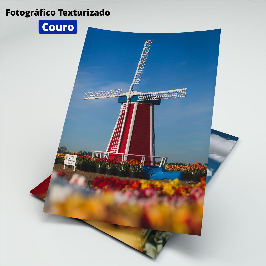 Papel Fotográfico Texturizado Couro - 200g - Masterprint - A4 - 20 Folhas