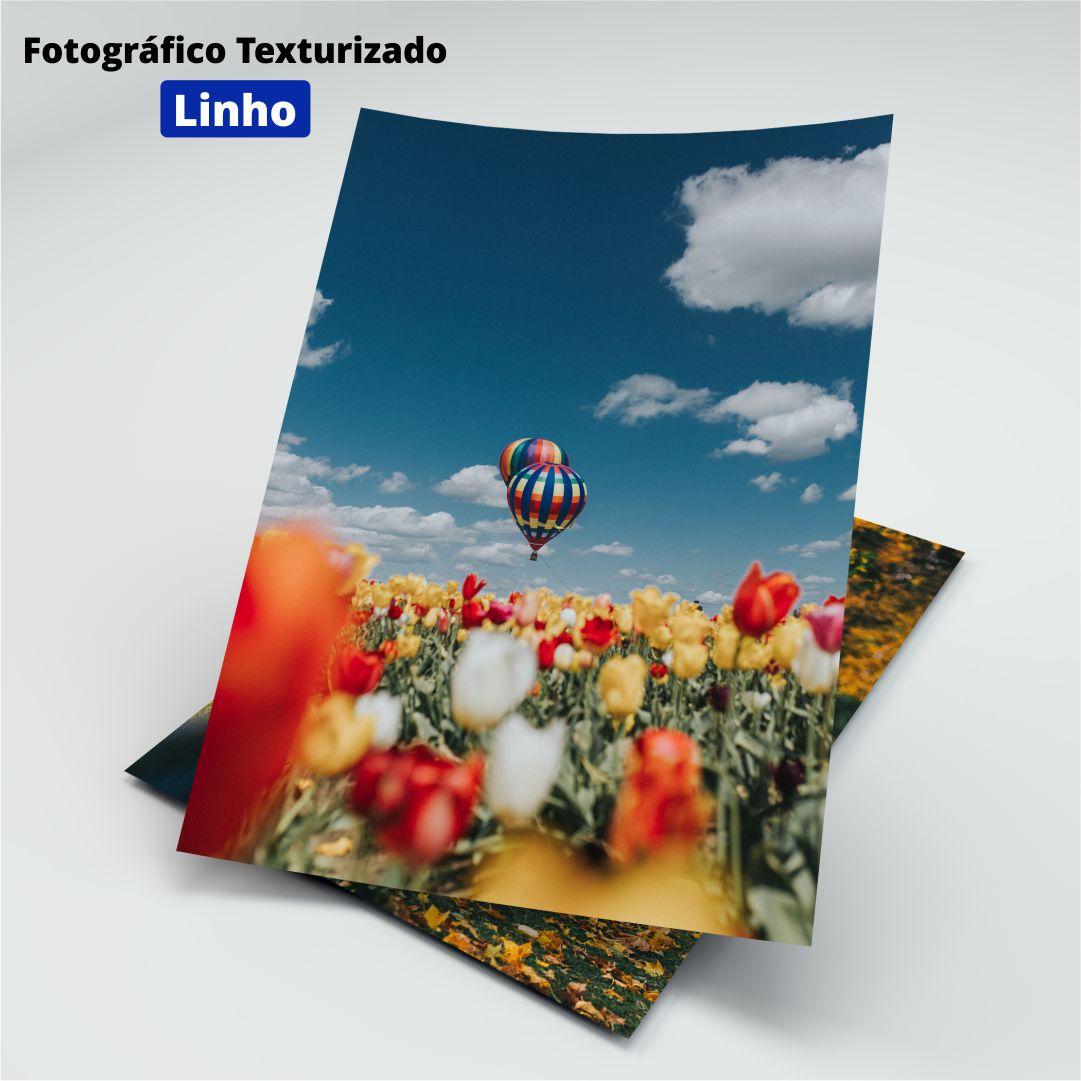 Papel Fotográfico Texturizado Linho - 200g - Masterprint - A4 - 20 Folhas