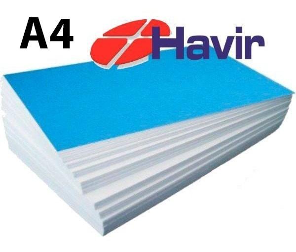 Papel Sublimático Havir Fundo Azul A4 - 90g - c/ 100 Folhas