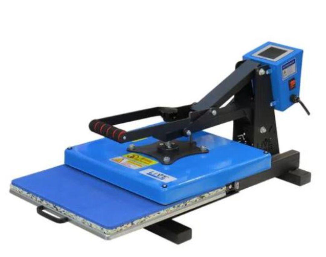 Prensa Plana 38x38 cm - Com Gaveta - Painel Touch Screen - 220V - LiVE SUB