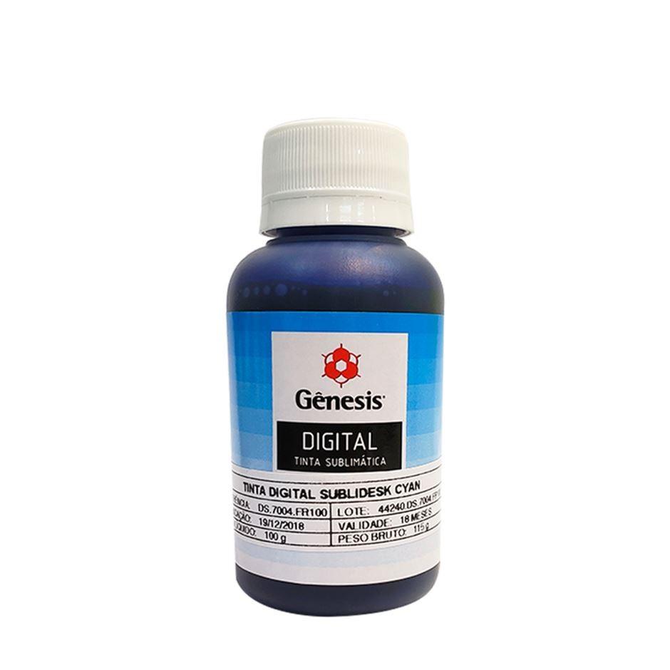 Tinta Sublimática Gênesis Azul - 100ml