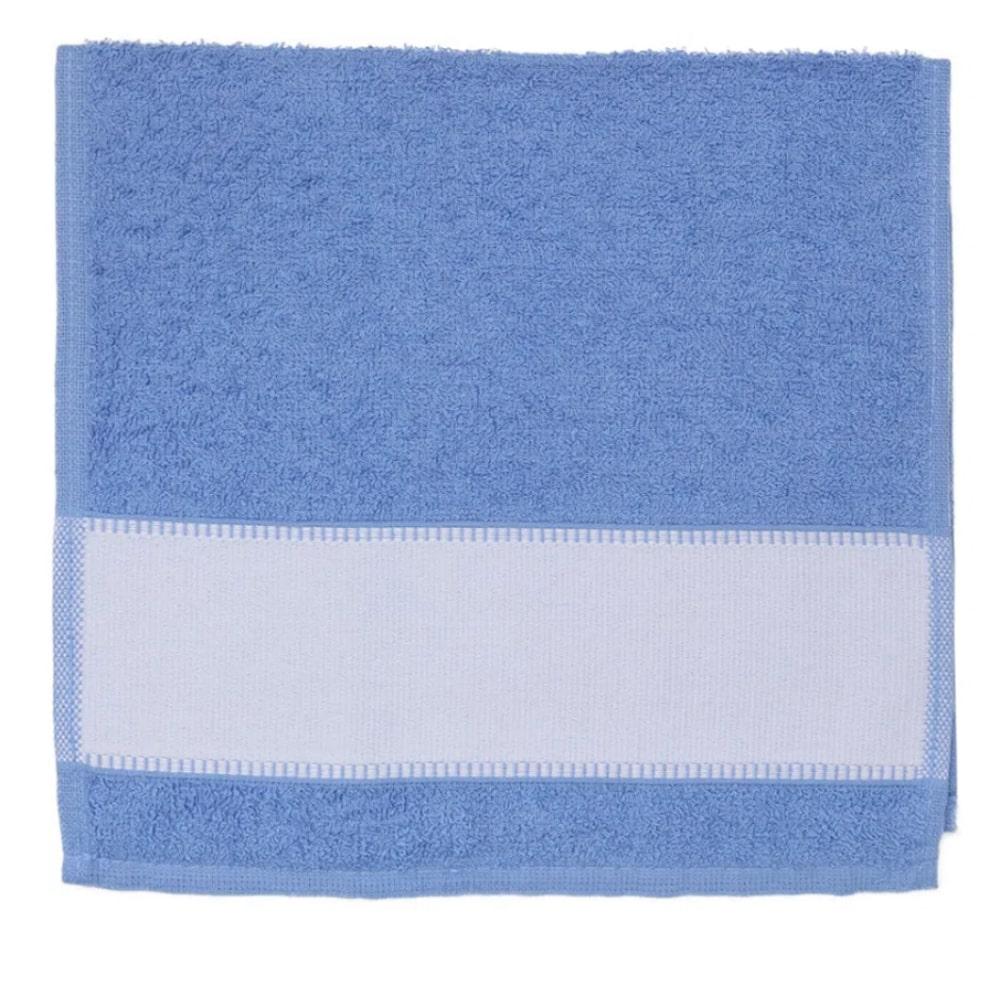 Toalha de Lavabo Para Sublimação - Azul Escuro