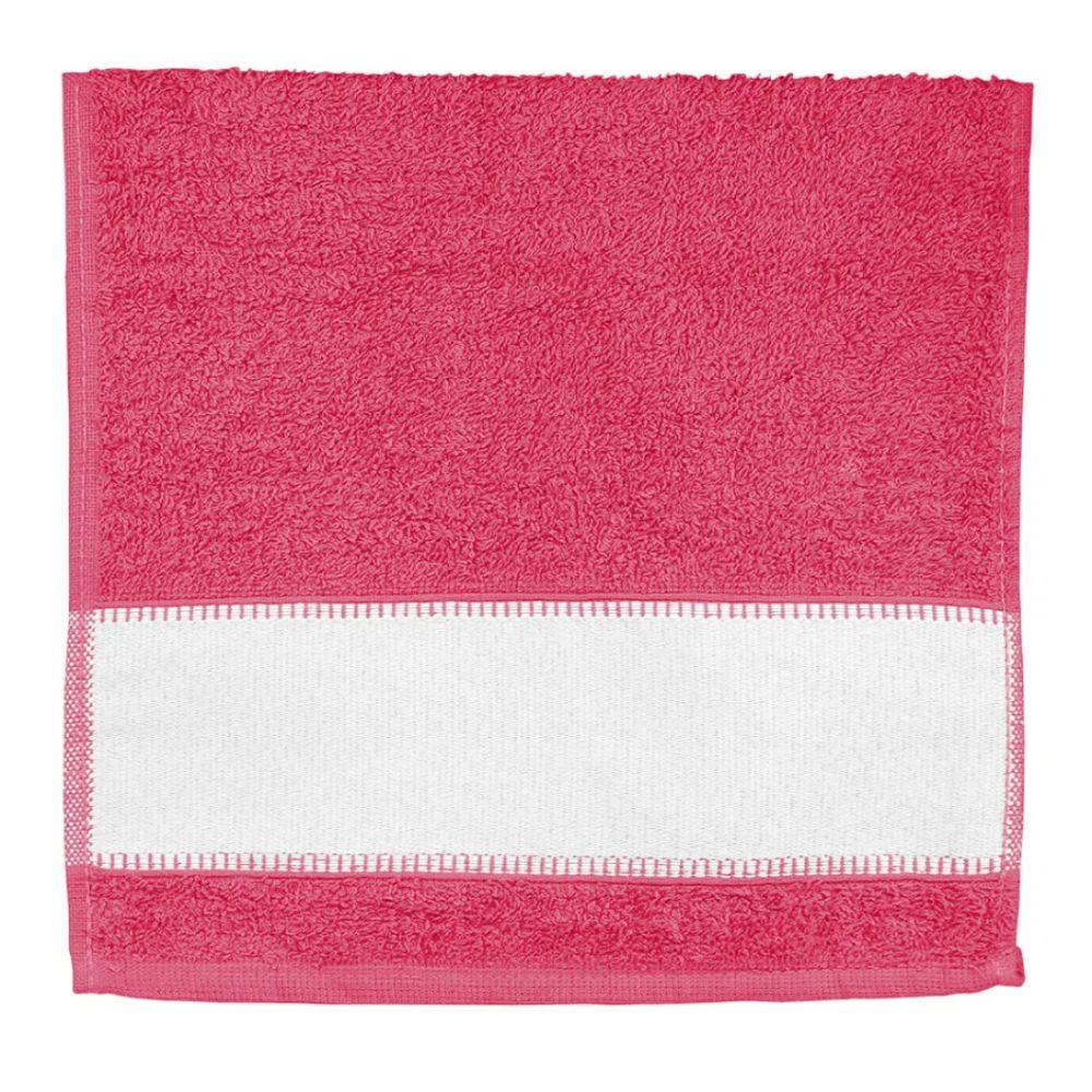 Toalha de Lavabo Para Sublimação - Rosa Pink