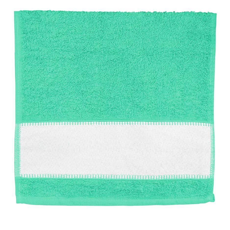 Toalha de Lavabo Para Sublimação - Verde Aqua