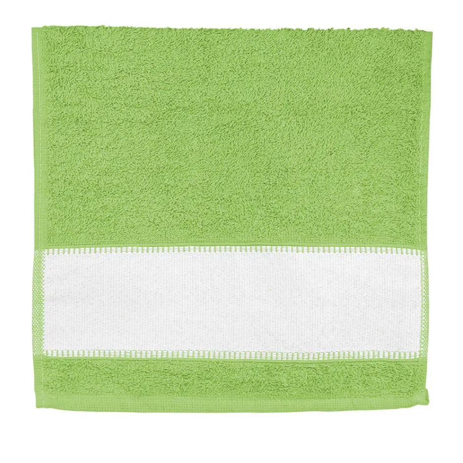 Toalha de Lavabo Para Sublimação - Verde Limão