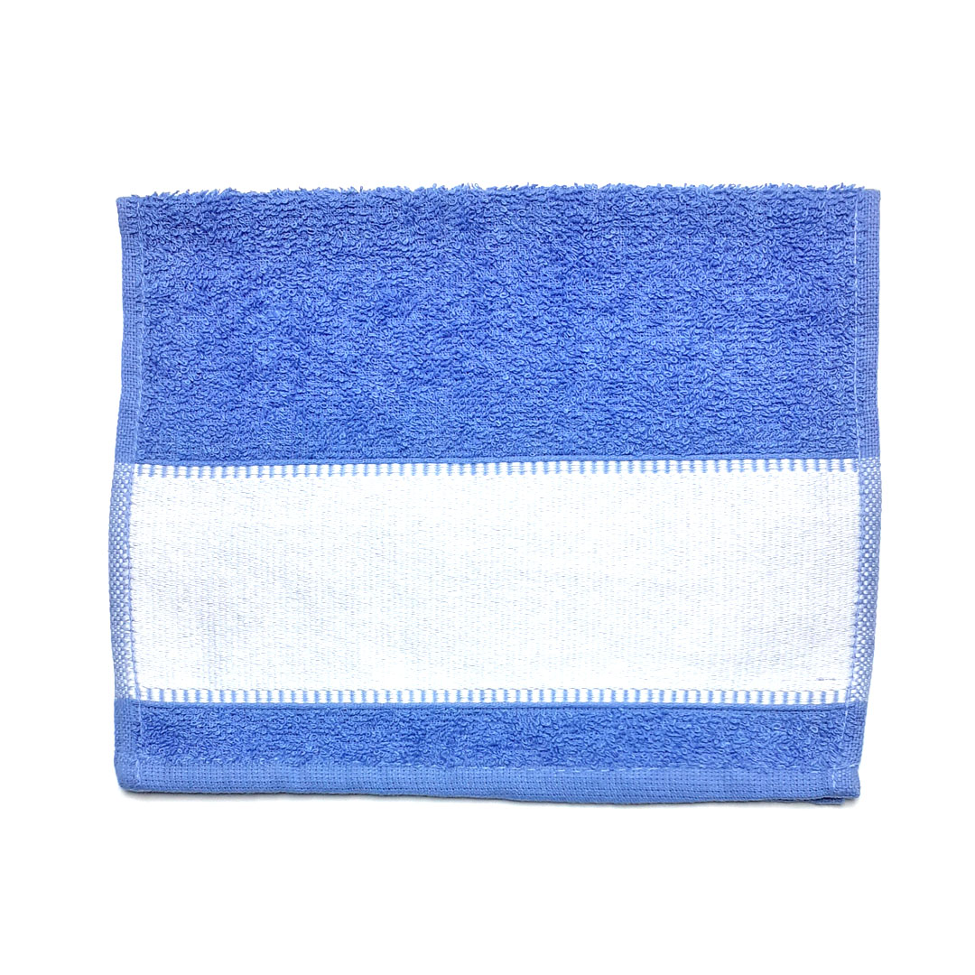 Toalha Lavabinho Para Sublimação - Azul Céu