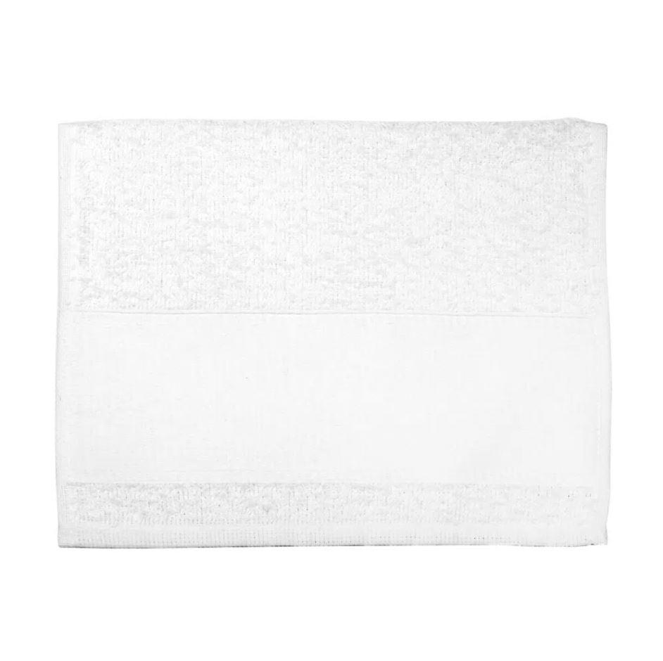 Toalha Lavabinho Para Sublimação - Branca