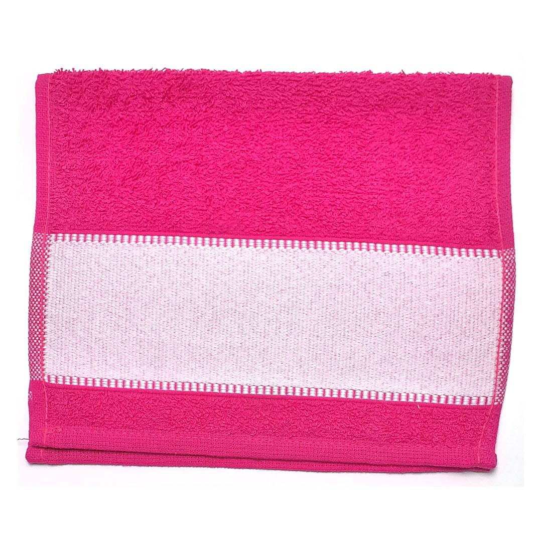 Toalha Lavabinho Para Sublimação - Pink