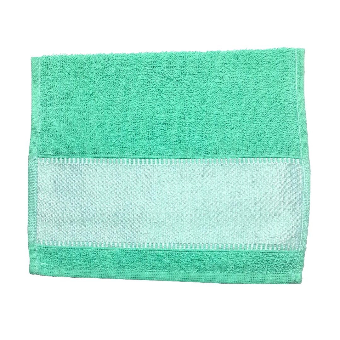 Toalha Lavabinho Para Sublimação - Verde Aqua