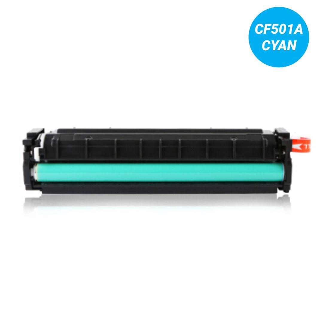 Toner Premium Cyan - Compatível HP - CF501A