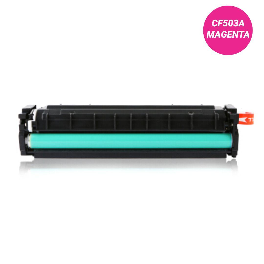 Toner Premium Magenta - Compatível HP - CF503A