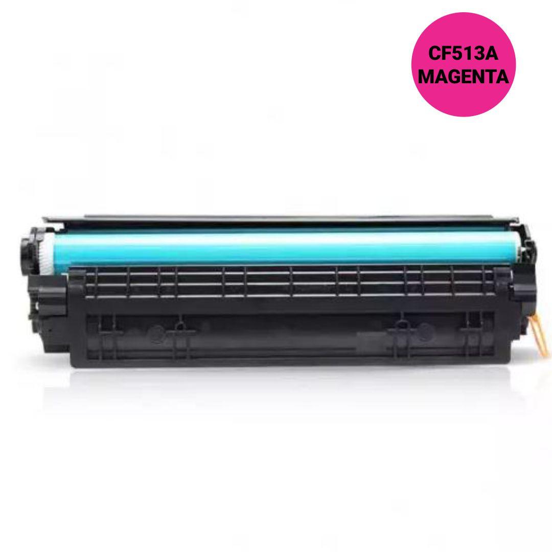 Toner  Premium Magenta - Compátivel HP - CF513A