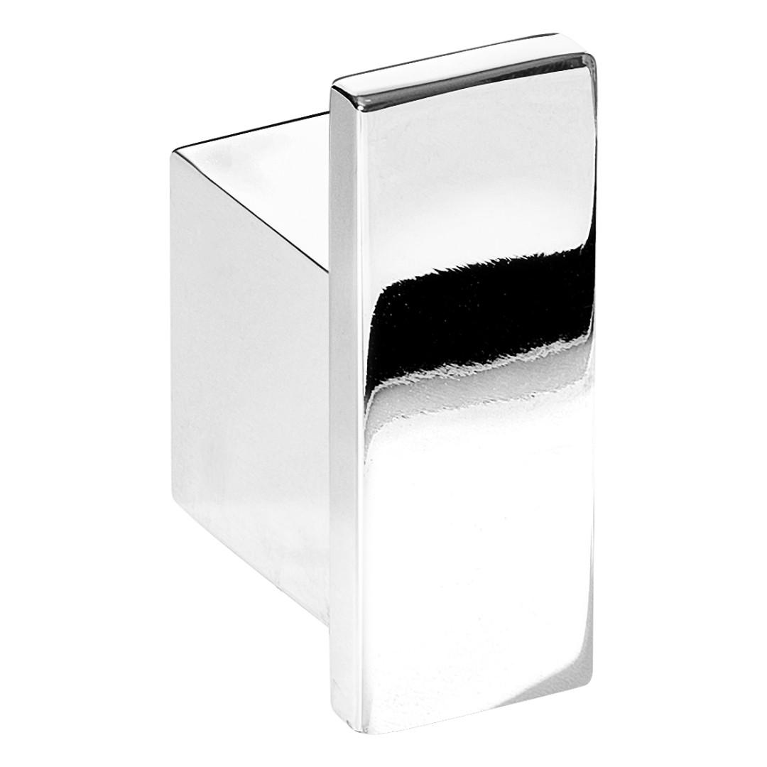 Cabide Para Banheiro De Parede Cromado Master Dupla Fixação