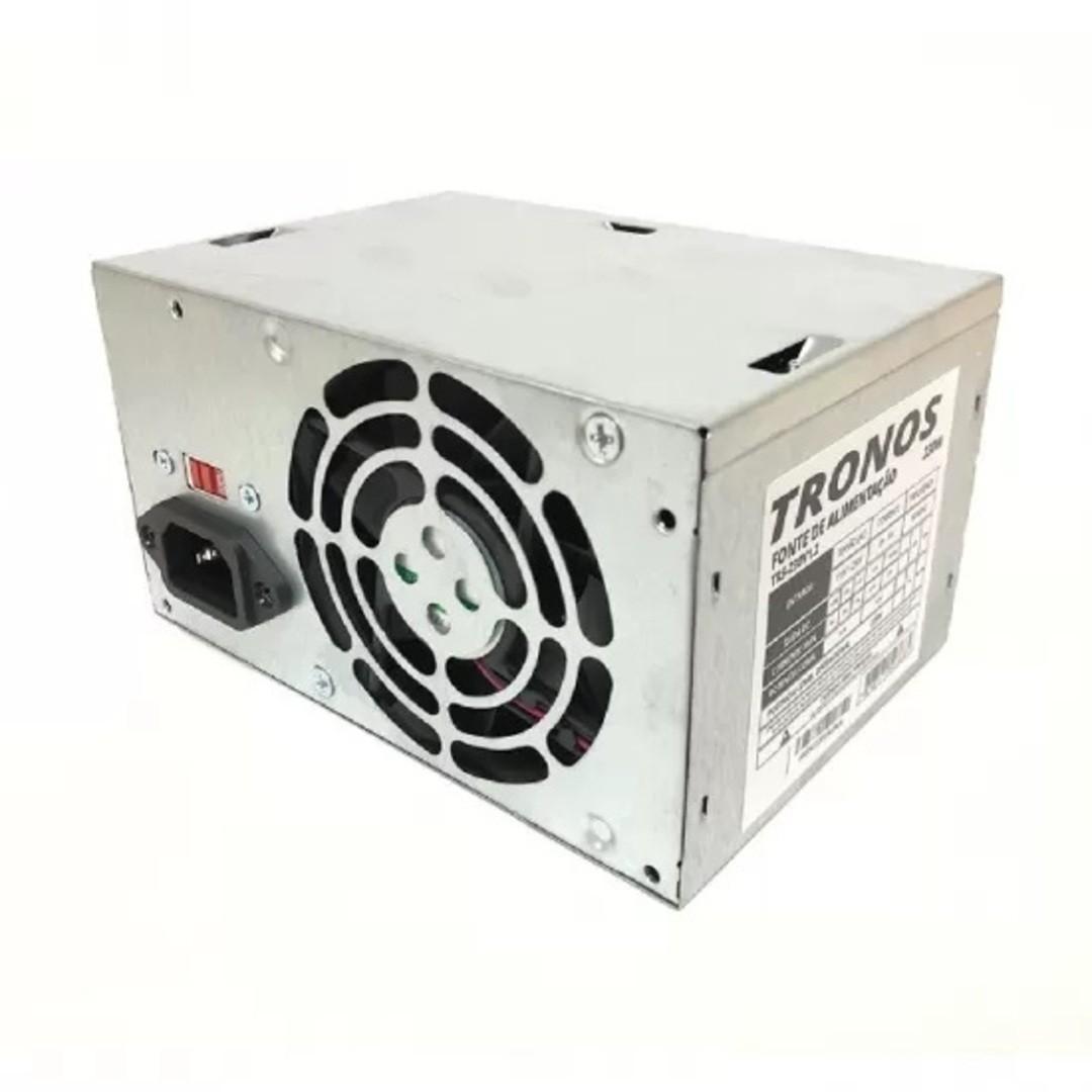 Fonte Micro Atx 230w Real Tronos V1.2 24 Pinos Pc